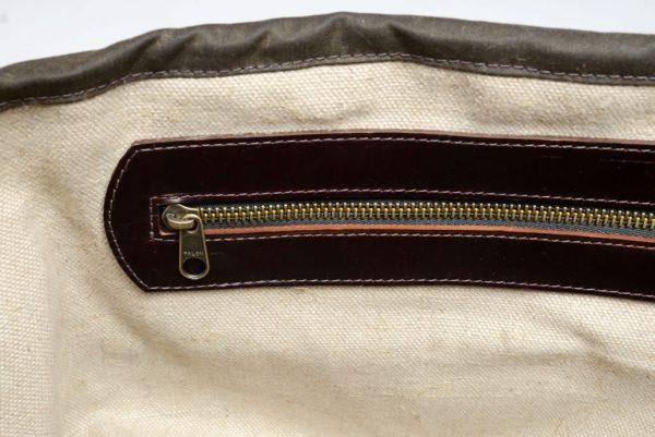 Leather Despatch Messenge Bag Olive