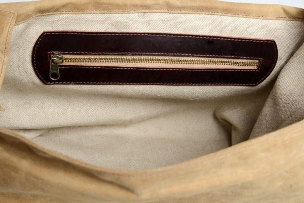 Leather Despatch Messenge Bag Tan